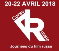 """""""JOURNÉES DU FILM RUSSE"""" 2018 A AJACCIO. 20-22 AVRIL."""