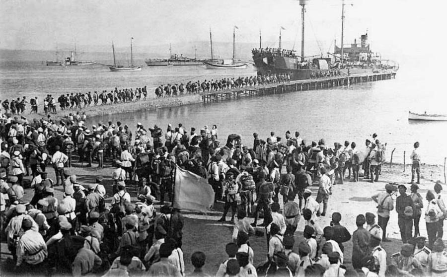 L'évacuation de Sébastopol - 12/16 novembre 1920.