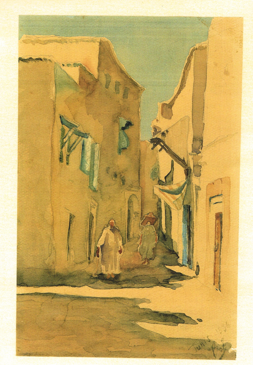Tunis 1936 - Serge LEBEDEFF