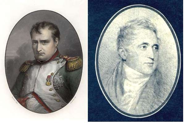 Pozzo di Borgo contre Napoléon ..... ou l'inverse.
