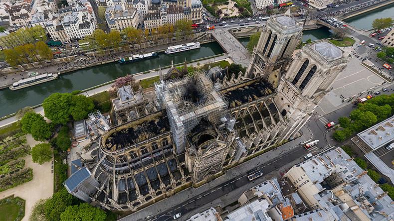 NOTRE DAME DE PARIS et CATHEDRALE DU CHRIST-SAUVEUR A MOSCOU : DESTINS CROISÉS.