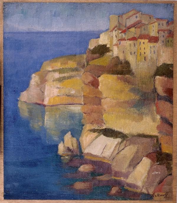 Les peintres russes en Corse au XXe siècle